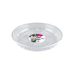 Elho Uni-Saucer Round 16cm Transparent