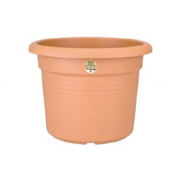 Elho green Basics Cilinder 35cm Mild Terracotta Colour