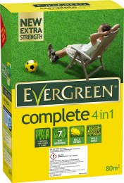Evergreen Complete 4 in 1 Lawn Feed Weed & Moss Killer 2.8kg 80m²
