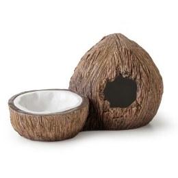 Exo Terra Tiki Coconut Hide & Water Dish