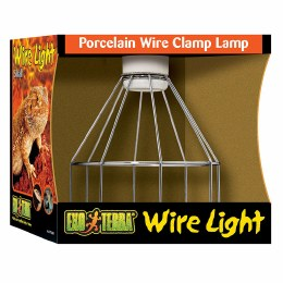 ExoTerra Wire Light Porcelain Wire Lamp Holder