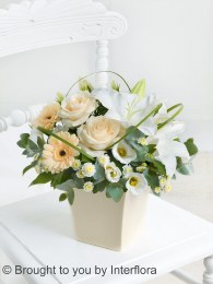 Exquisite Arrangement Cream