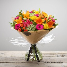 Flaming Fiesta Hand-tied Large