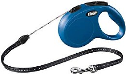 Flexi Cord Lead Small Blue