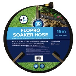 Flopro Soaker Garden Hose 15m
