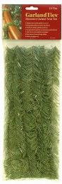 Xmas Garland Bannister Holder Noble Pine Twist Ties Pack of 10