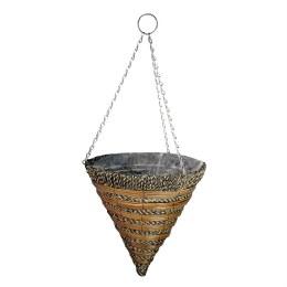 Gardman Sisal Rope & Fern Hanging Cone