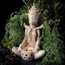 Goddess With Tea-Light