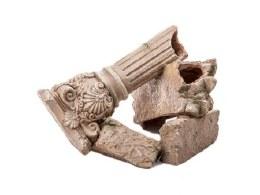 Aquarium Ornament Fallen Greek Pillar