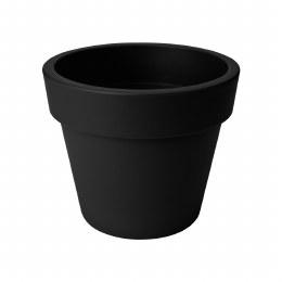 Elho Green Basics Top planter 40cm living Black Colour