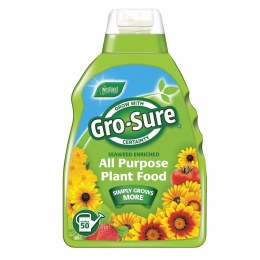 Gro-Sure Super Enriched Plant Food 1 Litre - Special Offer Buy 1 Get 1 Free