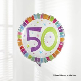Happy 50th Birthday Balloon