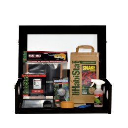 Hatchling Snake Starter Kit Black