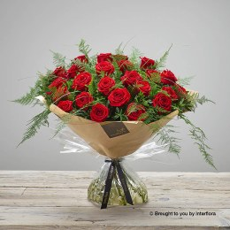 Heavenly Red Rose Hand-tied Extra Large