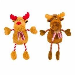 Hug Tug Reindeer or Moose Dog Toy 400mm