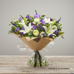 Iced Violet Hand-tied XL