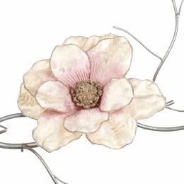 Artificial Classic Magnolia on Clip Pink 20cm