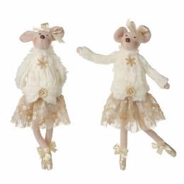 Christmas Dancing Mice Plush Decorations