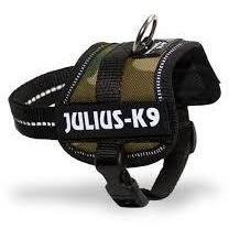 Julius-K9 Power Harness Mini Medium Camouflage