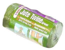 Jute Twine Green 250g