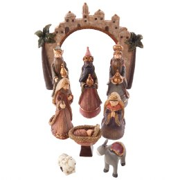 Childrens Christmas Nativity Set 17.5cm