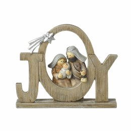 Childrens Christmas Nativity Ornament 'Joy' 12.5x1.5cm