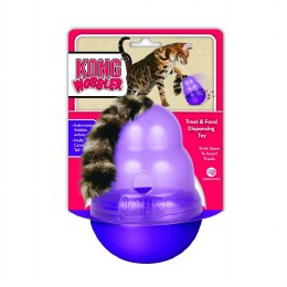 Kong Cat Wobbler Treat And Food Dispensing Toy