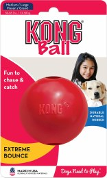 Kong Puppy Ball with Hole Medium-Large