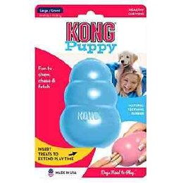 Kong Puppy Classic Dog Toy Coloured Large