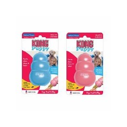 Kong Puppy Classic Dog Toy Coloured Medium