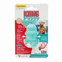 Kong Puppy Classic Dog Toy Coloured Small