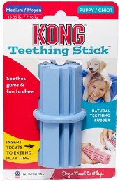Kong Puppy Teething Stick Medium Blue