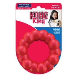 Kong Rubber Ring Medium-Large Red