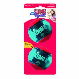 Kong Squeezz Action Ball Red Large