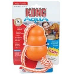 Kong Toy Aqua with Rope Large