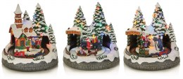 Christmas Village Scene Choir Multi 20cm