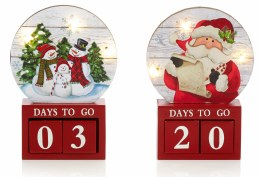 Christmas Count-Down with LED lights Battery Operated