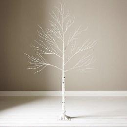 Silver Birch Tree 180cm With 96 Warm White Lights