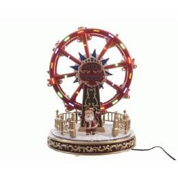 Christmas LED Village Scene Ferris Wheel 21x21x26.4cm