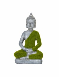 La Hacienda Flocked Buddha Small