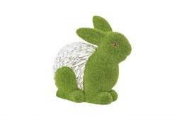 La Hacienda Grass and Stone Effect Rabbit 8cm