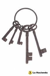 La Hacienda Jailers Keys Cast Iron