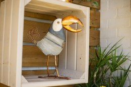La hacienda Copper Toucan Bird 39cm