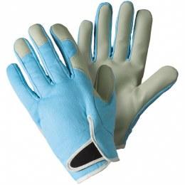 Lady Gardener Gloves Sky Blue Medium