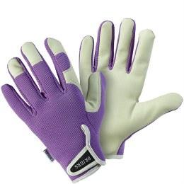 Lady Gardener Lavender Gloves Medium