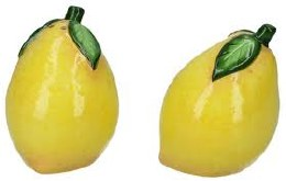 Lemon Ceramic Salt & Pepper Set Brand : Gisela Graham London