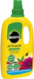 Miracle Gro All Purpose Liquid Plant Food 1 Litre