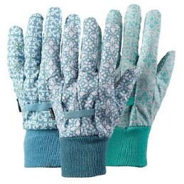 Moroccan Tile Cotton Gloves Triple Pack Medium