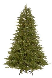 Mount Harvard Spruce 7.5 Foot  Pre-Lit Artificial Christmas Tree with 2000 Dual Colour LED Lights