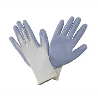 Natural Bamboo Gloves Light Blue - Ladies Medium